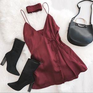 Sabo Skirt Scarlett Wrap Dress